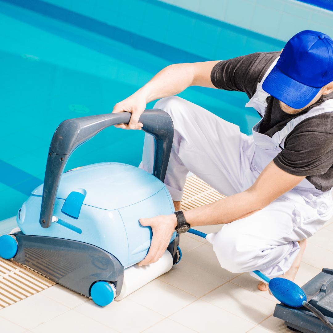 comment passer l'aspirateur dans une piscine