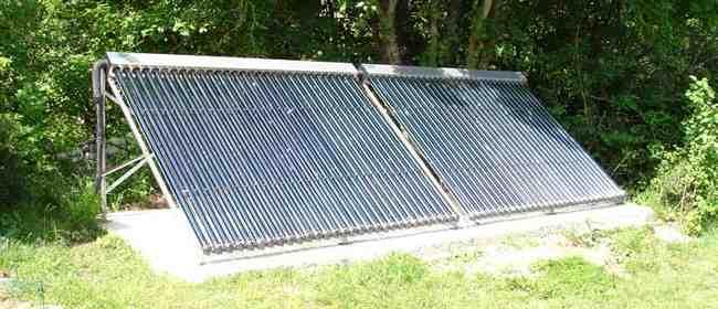 Chauffe-piscine solaire